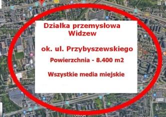 działka na sprzedaż - Łódź, Widzew