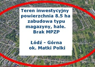 działka na sprzedaż - Łódź, Górna, Kolumny
