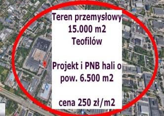 działka na sprzedaż - Łódź, Bałuty, Teofilów
