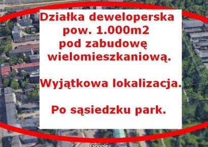 działka na sprzedaż - Łódź, Śródmieście